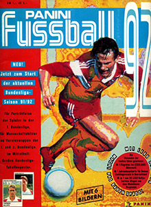 Panini German Football Bundesliga 1991-1992