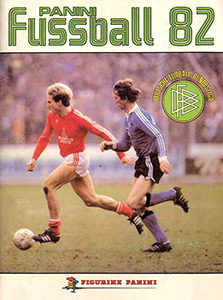 Panini German Football Bundesliga 1981-1982