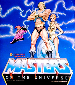 Panini He-man and Masters of the Universe
