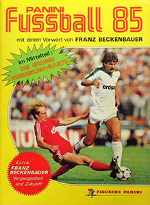 Panini German Football Bundesliga 1984-1985