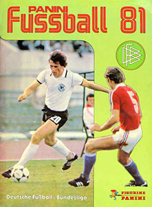 Panini German Football Bundesliga 1980-1981