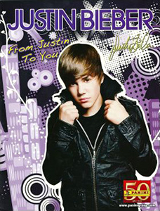 Panini Justin Bieber: From Justin to You