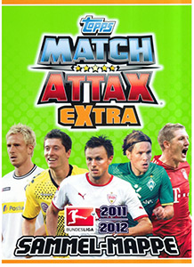 Topps Fussball Bundesliga 2011-2012. Match Attax Extra