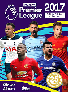 Topps English Premier League 2016-2017
