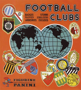 Panini Badges football clubs