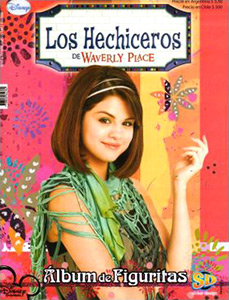 Sticker design Los Hechiceros de Waverly Place