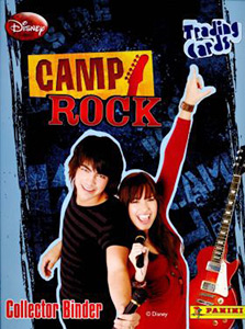 Panini Camp Rock Trading Cards