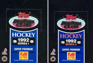 Topps Stadium Club Hockey 1992-1993