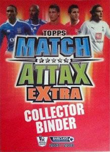 Topps English Premier League 2007-2008. Match Attax Extra