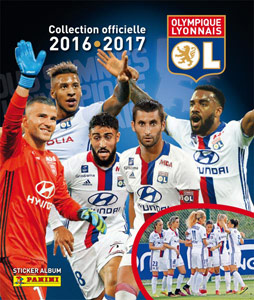 swap stickers checklist and photos for album panini olympique lyonnais 2016 2017. Black Bedroom Furniture Sets. Home Design Ideas