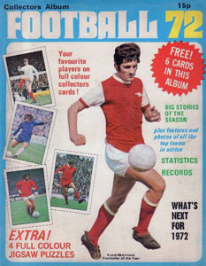 Top Sellers Ltd. English Football 1971-1972