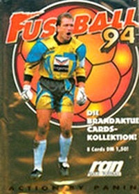 Panini Bundesliga Fussball Cards 1993-1994