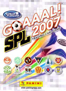 Panini Scottish Premier League 2006-2007. Trading Card Game