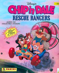 Panini Chip'n Dale - Rescue Rangers