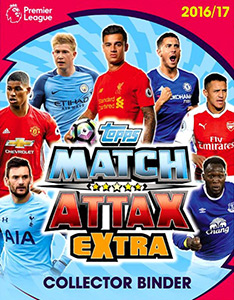 Topps English Premier League 2016-2017. Match Attax Extra