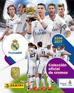 Panini Real Madrid 2016-2017
