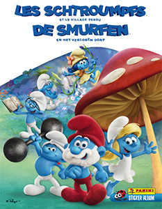 Panini Smurfs Movie 3