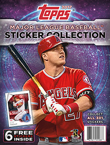 Topps MLB Sticker Collection 2017
