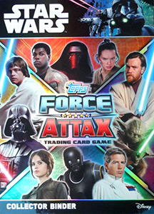 Topps Star Wars Force Attax Universe