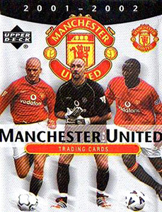 Upper Deck Manchester United 2001-2002 Trading Cards