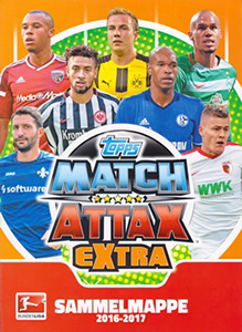 Topps German Fussball Bundesliga 2016-2017. Match Attax Extra