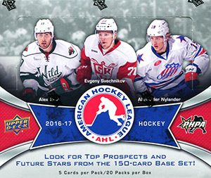 Upper Deck AHL Hockey 2016-2017