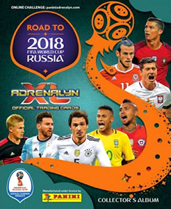 Panini Road to 2018 FIFA World Cup Russia. Adrenalyn XL