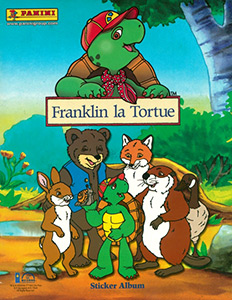 Panini Franklin la Tortue