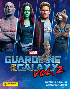 Panini Guardians of the Galaxy Vol. 2 Trading Cards