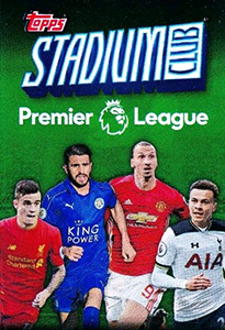 Topps Stadium Club Premier League 2016
