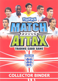 England 2010. Match Attax