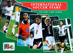 PG Tips Brooke Bond International Soccer Stars 1998