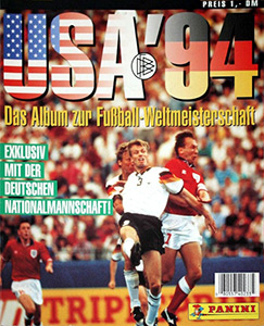 Panini FIFA World Cup USA 1994. German version