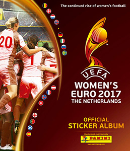 Panini Women's Euro 2017 The Netherlands