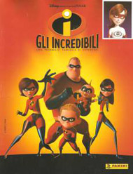 Panini The Incredibles (Italian version)