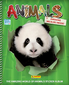 Panini Animals 2013. English version