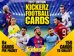 Kickerz Football Cards 2017