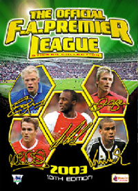 Merlin English Premier League 2002-2003