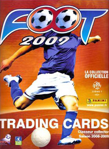 Panini FOOT 2008-2009 Trading Cards