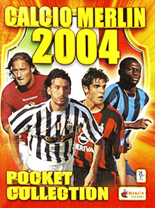 Merlin Calcio 2003-2004 Pocket Collection
