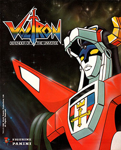 Panini Voltron: Defender of the Universe