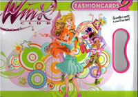 Edibas Collections WINX Club Fashioncards 2