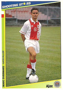 Merlin Shooting Stars Holland 1992-1993
