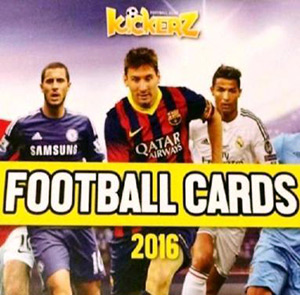 Kickerz Football Cards 2016