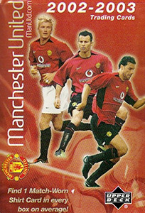 Upper Deck Manchester United 2002-2003