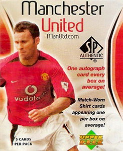 Upper Deck Manchester United SP Authentic 2004
