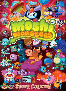 Topps Moshi Monsters. Series 3