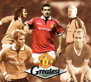 Futera Manchester United Greatest Platinum 1999