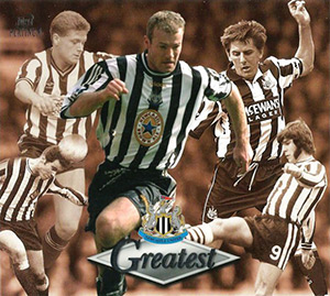 Futera Newcastle Greatest Platinum 1999