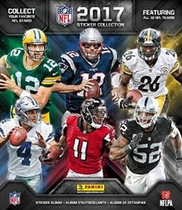 Panini NFL Sticker Collection 2017